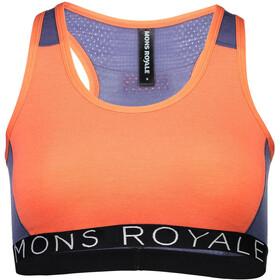 Mons Royale W's Sierra Sports Bra Women Coral/Stone